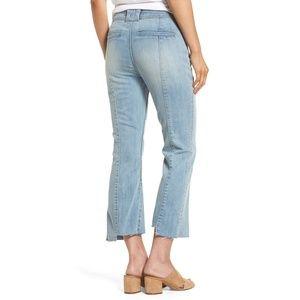 Chelsea28 Jeans - CHELSEA28 high waist rise crop flare denim jeans